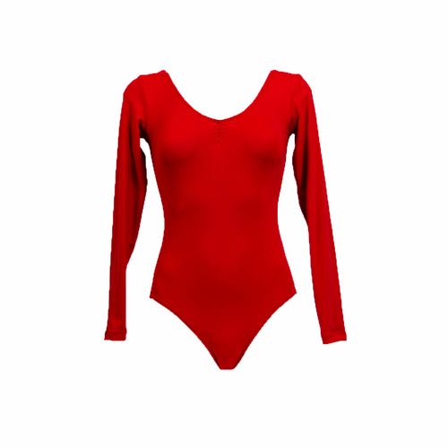 Adults Essential Long Sleeve Leotard