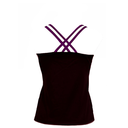 Adults Double Cross Singlet, C/Binding