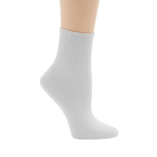 Ribbed Ballet Sock