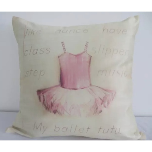 My Ballet Tutu Cushion