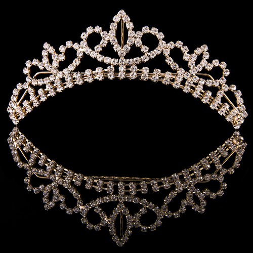 Medium Crystal Tiara